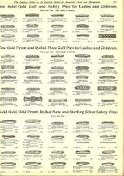 1160f95dae3 SOLID gold cuff and safety pins for baby